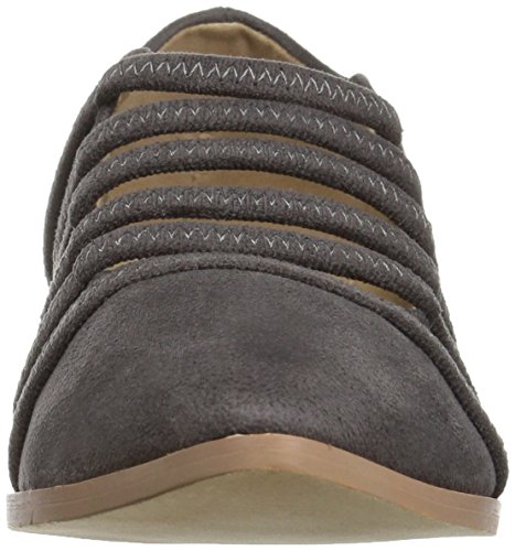Brinley Co Womens Odessa Loafer Flat Grey EBzvdqwX5