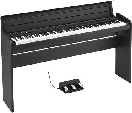 Pianos digitales Korg lp-180 BK Pianos digitales muebles ...