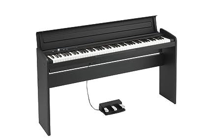 Pianos digitales Korg lp-180 BK Pianos digitales muebles