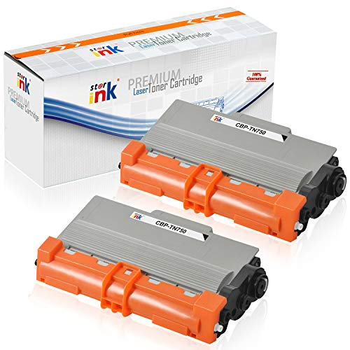 - Starink Compatible Toner Cartridge Replacement for Brother TN750 TN-750 TN720 TN-720 Use with DCP-8110DN HL-5470DW HL-5450DN HL-6180DW MFC-8510DN MFC-8710DW MFC-8910DW MFC-8950DW (8,000 Yield, 2-Pack)