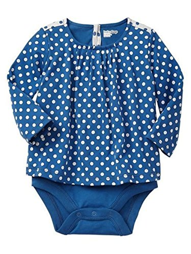 Gap Baby Girl's Pleated Dot Body Double