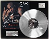#7: TUPAC ALL EYEZ ON ME PLATINUM LP LTD SIGNATURE RECORD DISPLAY