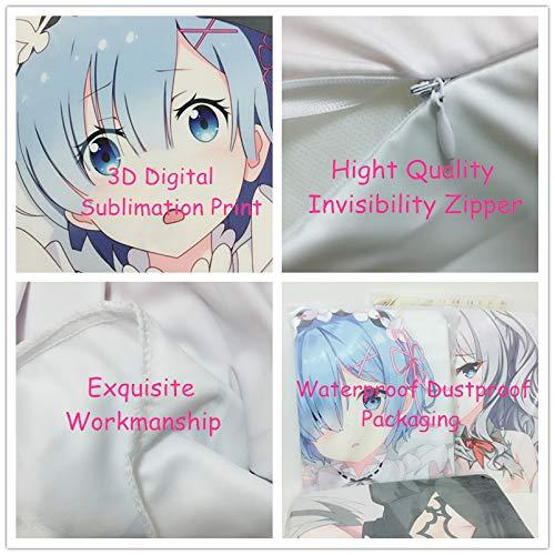 Pillowcases 39.9in HH ART Taimanin Asagi Peach Skin 100cm
