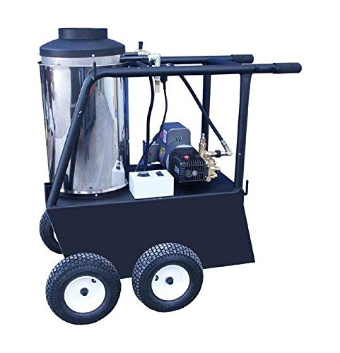 Cam Spray 1000QE Q Series Portable Diesel Fired Electric Powered Hot Water Pressure Washer, 1000 psi, 50' Hose from Cam Spray
