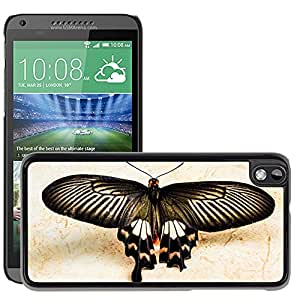 Super Stella Slim PC Hard Case Cover Skin Armor Shell Protection // M00144653 Butterfly Insect // HTC Desire 816