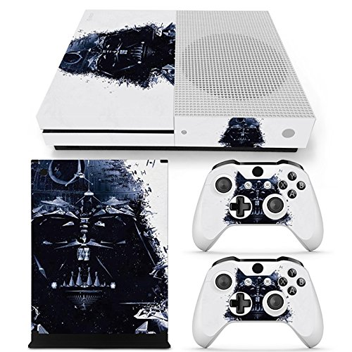 FriendlyTomato Xbox One S Console, Controller and Kinect Skin Set – Star Warrior – XboxOne Vinyl