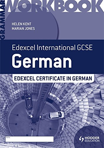 Edexcel International GCSE and Certificate German Grammar Workbook PDF