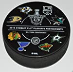 2016 NHL PLAYOFFS PUCK All 16 Team Lo...