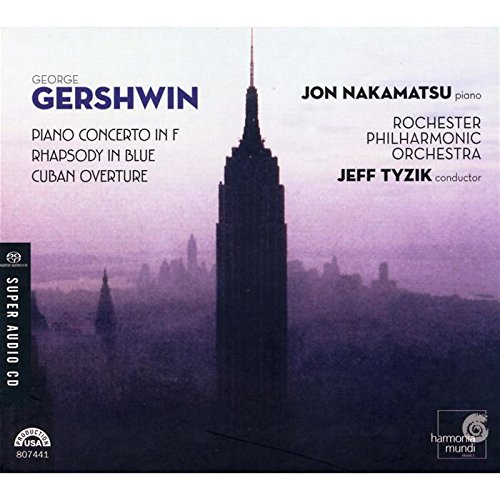 Gershwin: Piano Concerto in F / Rhapsody in Blue / Cuban - Rochester Marketplace