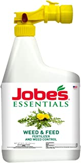 product image for Jobe's 05374W Essentials Weed & Feed Liquid Fertilizer, Natural