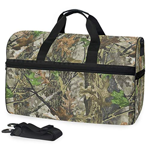 - SLHFPX Gym Bag Mossy Oak Camo in Grande Duffle Bag Large Sport Travel Bags for Men Women