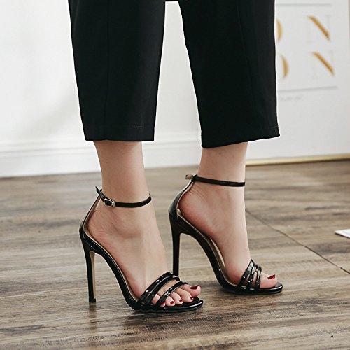 Sandalias tacón zapatos de de gules UE RUGAI alto mujer y g5RTq