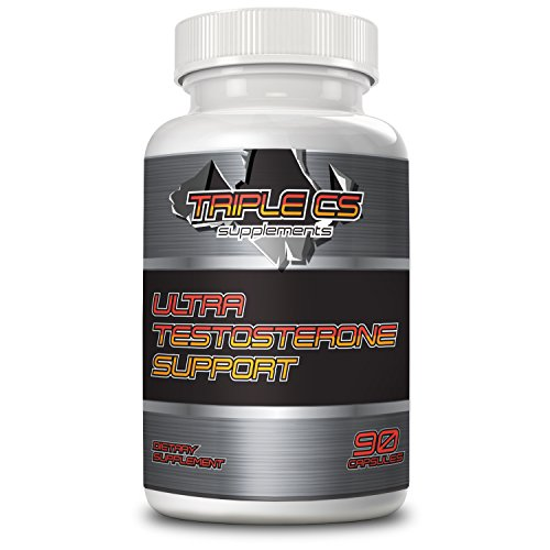 BEST ULTRA TESTOSTERONE BOOSTER Increases Energy, Libido, Endurance & Fat Burn naturally with Tribulus, Horny Goat Weed, Longjack, Saw Palmetto Berries, Hawthorn Berries, and Cissus Quadragularas.