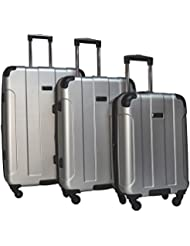 Kenneth Cole Reaction Central Park 3-Piece Expandable Luggage Spinner Set: 28, 24, and 20