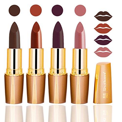 Rythmx Creamy Matte Lipsticks, 4 Gm  Combo of 4