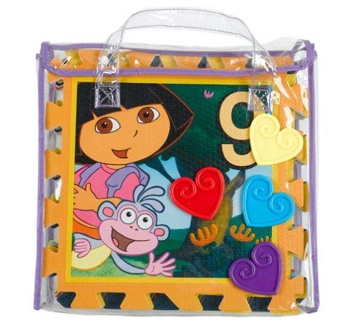 What Kids Want Dora The Explorer Hopscotch : Creative Soft Foam Floor Mat