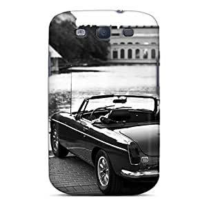 Premium CcF4671uxeZ Case With Scratch-resistant/ Oldschool Wallpaper Case Cover For Galaxy S3