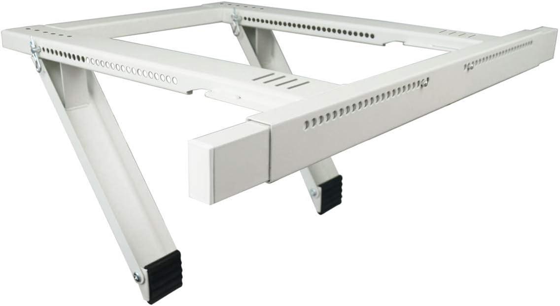 Universal Window Air Conditioner Bracket Heavy-Duty Window AC Support White