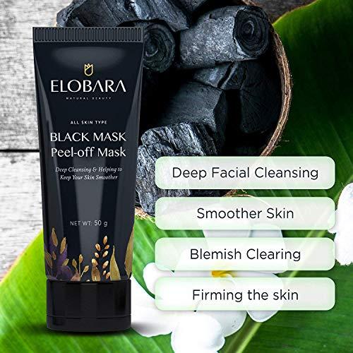 ELOBARA Blackhead Mask Black Peel Off Activated Facial Pore tube