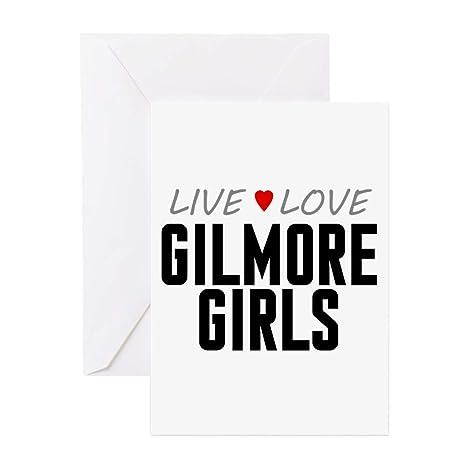 Amazon cafepress live love gilmore girls greeting cards 20 cafepress live love gilmore girls greeting cards 20 pack greeting card 20 m4hsunfo