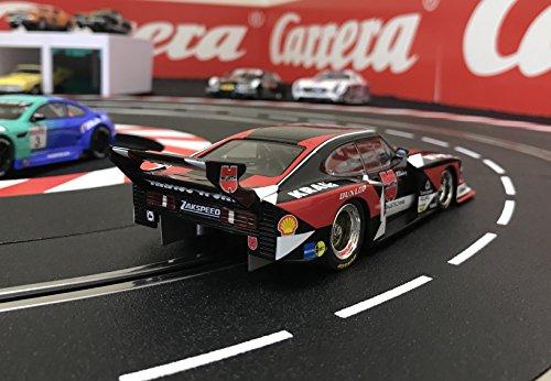 Amazon.com: Carrera 30816 Digital 132 Slot Car Racing Vehicle - Ford Capri Zakspeed Turbo Wurth-Kraus-Zakspeed Team, No.01- (1:32 Scale): Toys & Games