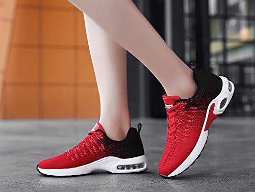 Athletic Red Town Shoes Women's 66 Lightweight Tennis Air Running Walking Sneakers Men's No Breathable B1gwqg