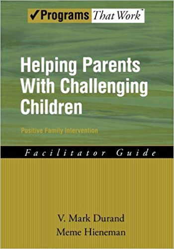 Challenging Behavior And Impact On >> Helping Parents With Challenging Children Positive Family