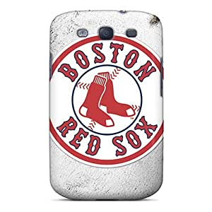 S3 Scratch-proof Protection Case Cover For Galaxy/ Hot Boston Red Sox Phone Case BY icecream design