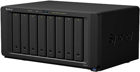 Synology DS1817+ NAS Escritorio Ethernet Negro - Unidad Raid ...