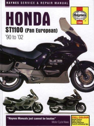 ropean) '90- to '02 (Haynes Service & Repair Manual) (Honda St1100 Pan)