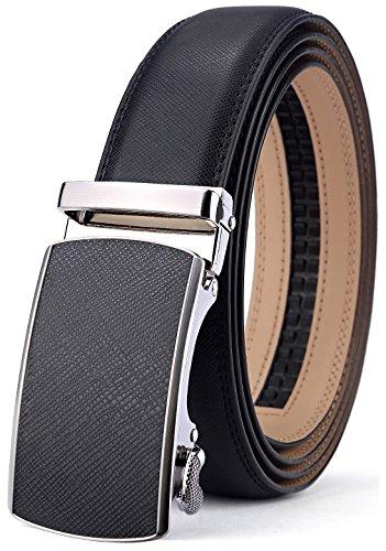 Design Genuine Leather Gloves - Men's Belt,Bulliant Slide Ratchet Belt for Men with Genuine Leather 1 3/8,Trim to Fit