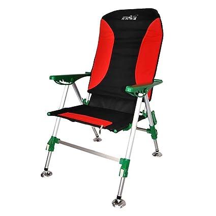 GG-Fishing chair Silla Plegable para Acampar, Ligera ...