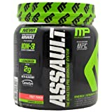Muscle Pharm Assault Pre-Workout System, Blue Raspberry, 30 Servings, 0.76 Pound