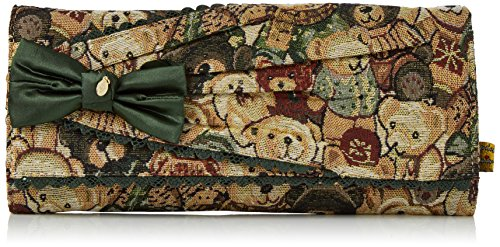 Multi Clutch Choice Da Giorno Pochette green Donna Bow Verde Irregular Patty wvqadHHt