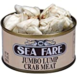 Sea Fare Jumbo Lump Crab Meat, 6.5 Ounce