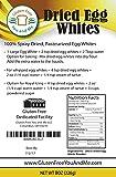 1/2lb (8oz) Dried Egg Whites (Non-GMO & Pasteurized)