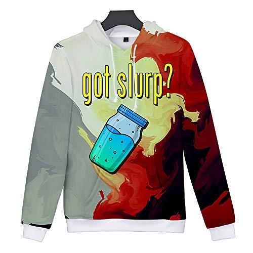 Game Unisex Felpa Stampa di Gioco Pullover Sweatshirt Maglietta Cappuccio 3D Icone Hoodie 10 con Fortnite Fortnite PxT0rwP
