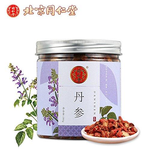 2018 New Tong Ren Tang Salvia Miltiorrhiza Dan Shen 180g1box 鍖椾含鍚屼粊鍫?涓瑰弬 绱腹鍙傜墖鑷鎵撲腹鍙傜