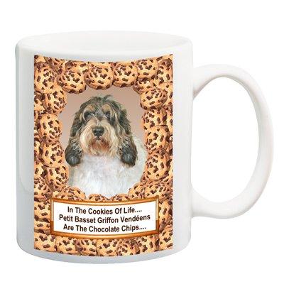 Petit Basset Griffon Vendeen Chocolate Chip Coffee Tea Mug 15 oz