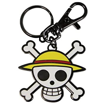 Amazon.com: AbyStyle - Porte-clés - ONE PIECE Skull - Luffy ...