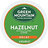 Green Mountain Coffee Roasters Hazelnut, Single Serve Coffee K-Cup Pod, Decaf, 12 Count (Pack of 6) (Packaging May Vary), 72 Count