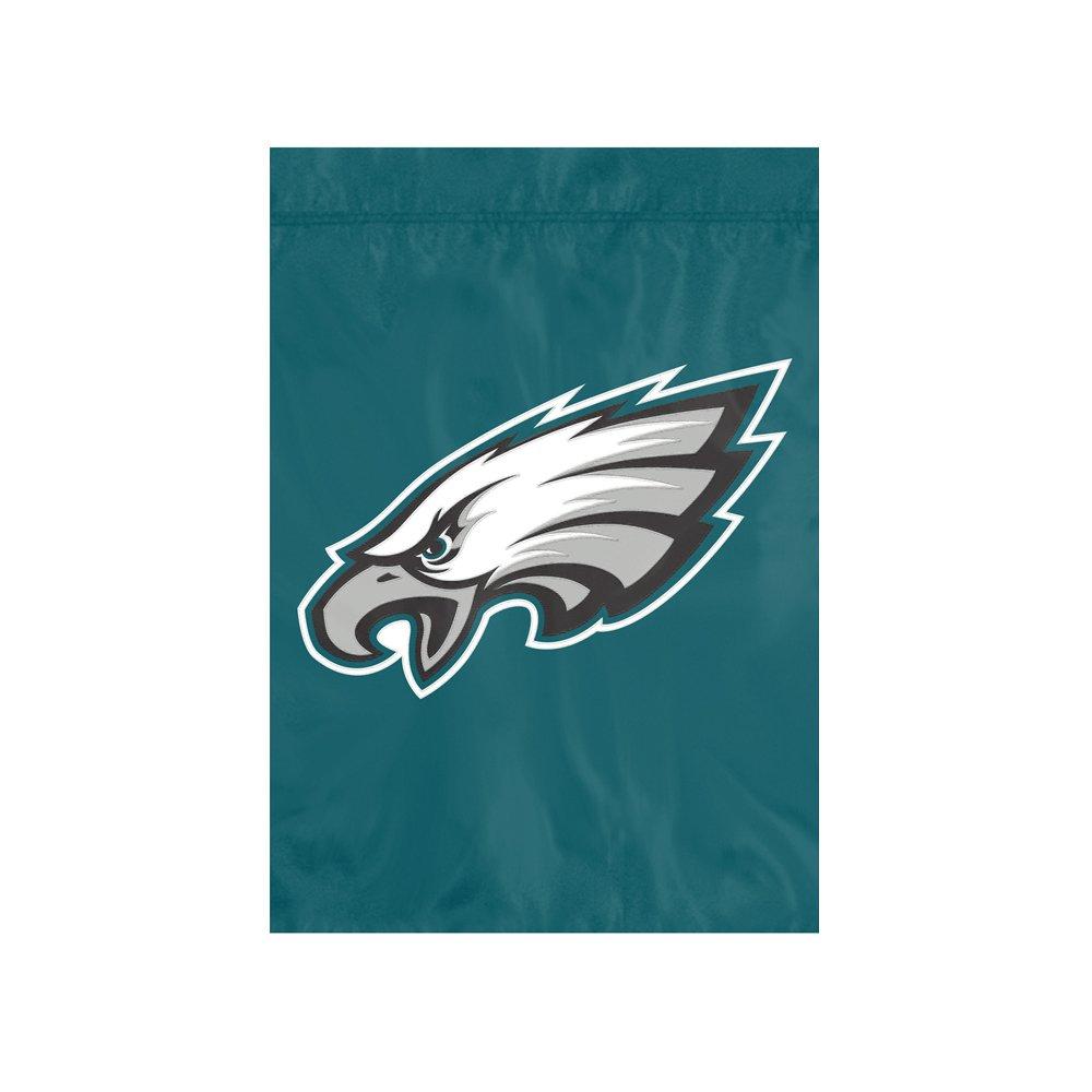 The Party Animal NFL フィラデルフィアイーグルス NFL ガーデンフラッグ グリーン 18インチ x 12.5インチ   B07FDBYNT2