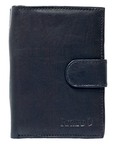 mens-compact-black-genuine-leather-wallet