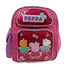 """Peppa Pig 12"""" Medium small size Backpack Bag for Girls and Kids new Designs"""
