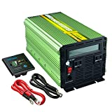 Edeoca 2000W Power Inverter DC 24V to 110V AC Power Converter -...