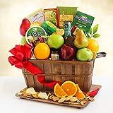 Fresh Fruit Holiday Greetings Gift Basket
