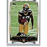 0b1c5cb6 2014 Topps Football #337 Davante Adams RC Rookie Green Bay Packers Official.