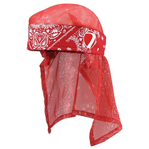 Dye Precision Headwrap - Bandana Red