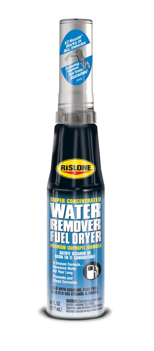 Rislone 4735 Water Remover Fuel Dryer - 6 oz. by Rislone