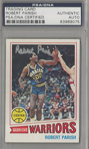 - Robert Parish Autographed 1977-78 Topps Basketball Card PSA/DNA Certified